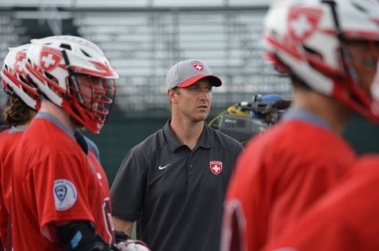 switzerland lacrosse national team coach